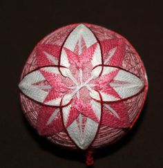 Japanese Temari Decorative Ornaments by Dorinda Dohner, via Behance