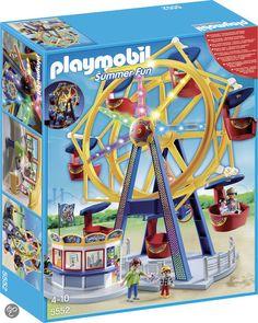 bol.com | Playmobil Kermis Groot draairad met kleurrijke verlichting - 5552,Playmobil...