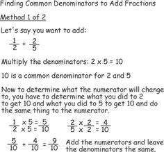 math worksheet : arithmetic  add fractions adding fractions and math : Finding Common Denominators Worksheets