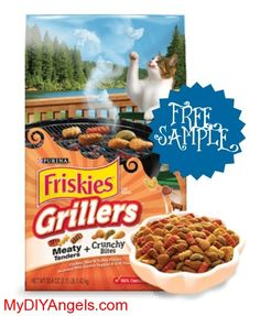 FREE Sample of Purina Cat Chow 7 Friskies Grillers Cat Treats