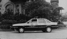 VW Santana: comum na Polícia Civil nos anos 80 - Arquivo SSP