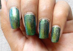 Peacock Holographic Chameleon Powder | Beauty Bigbang  #beautybuigbang #holographic #duochromatic #chameleonpowder