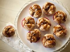 Chocolate Caramel Monkey Muffins from Zoe Bakes.
