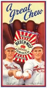 A Beech-Nut ad with the Dean Brothers.
