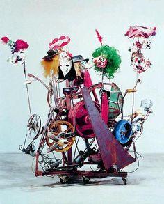 Jean Tinguely ArtExperienceNYC www.artexperiencenyc.com