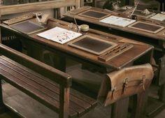 shared desks.