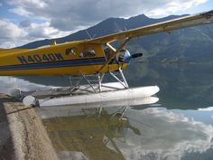 Gates of the Arctic National Park - the Beaver floatplane on Walker Lake - Alaska - bush planes Amphibious Aircraft, Sea Planes, Bush Plane, Float Plane, Private Plane, Flying Boat, Aircraft Design, Nose Art, Aviators