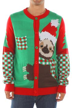 Men's Stage 5 Clinger Sloth Sweater