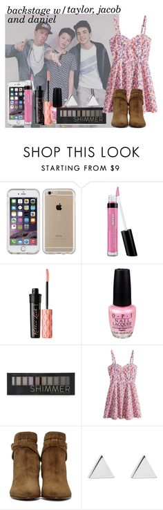"""""""Backstage with Taylor, Jacob, and Daniel 