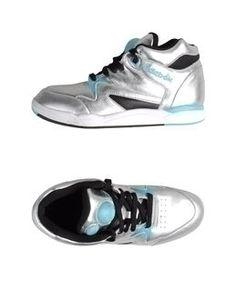 Women's High Top Reebok Colors   Reebok Silver Women's High-top Sneaker