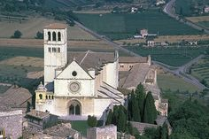 Assisi, Italy-St Francis of Assisi Catholic Church