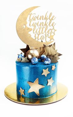 I found this gorgeous cake topper on Etsy. Baby Shower Cake Topper, Twinkle Twinkle Little Star Cake Topper, Baby Shower Cake Topper, Baby Cake Topper, Gender Reveal Cake Topper Boy Baby Shower Themes, Star Baby Showers, Baby Shower Cakes, Baby Boy Shower, Baby Shower Decorations, Baby Cake Topper, Cake Toppers, Galaxy Cake, Baby Birthday Cakes