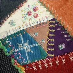 CRAZY QUILTING INTERNATIONAL: Wool DYB Round Robin 2010