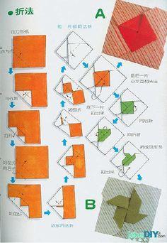 Origami Windmill Envelope Origami Windmill Envelope by diyforever Diy Origami, Origami And Kirigami, How To Make Origami, Paper Crafts Origami, Diy Paper, Oragami, Letter Folding, Paper Folding, Origami Instructions