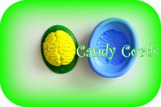 Handmade Zombie Brain Cameo Mould silicone flexible food grade mold for cake making soap clay sugarpaste low melt wax sculpting by CandyCords on Etsy