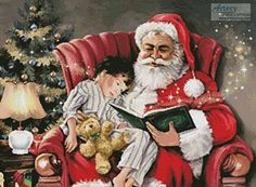 Christmas Magic 2 - Christmas cross stitch pattern designed by Tereena Clarke. Category: Santa.