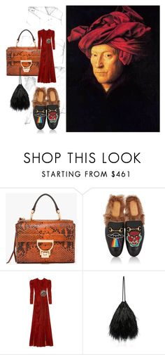 """Why not?: Renaissance."" by loulove-1 ❤ liked on Polyvore featuring Gucci and Attico"