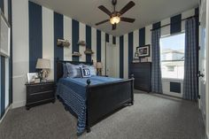 Coventry Homes   secondary bedroom #stripes