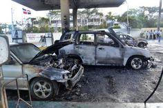 Informando24Horas.com: Tres vehículos calcinados por incendio en estación...