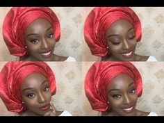 (Video) How To Tie Your Own 'Sego Gele' With Perfect Pleats - Greennews.ng Green new year yies. Natural Afro Hairstyles, Scarf Hairstyles, African Hairstyles, African Hair Wrap, African Head Wraps, How To Tie Gele, Hair Wrap Scarf, Hair Tie, African Traditional Wedding