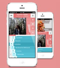 20 Flat Mobile UI Designs For Your Inspiration