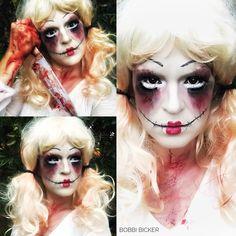 Day7 of my #31daysofhalloween #possesed #PossesedDoll #doll #sfx #sfxmakeup #sfxmakeupartist #blood #knife  #halloween #halloweenmakeup #halloweenmakeupideas #amazing #beautiful  #facepainting #bodypainting #artist #bobbibicker #london