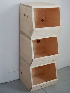 Ana White & Build a DIY Wooded Bins & Featuring The Merry Thought & Free and Easy DIY Project and Furniture Plans DIY Wooded Bins& The post DIY Wooded Bins & Featuring The Merry Thought appeared first on Carley Powell Carpentry. Easy Woodworking Projects, Diy Wood Projects, Teds Woodworking, Popular Woodworking, Custom Woodworking, Carpentry Projects, Woodworking Equipment, Free Woodworking Plans, Diy Wood Crafts