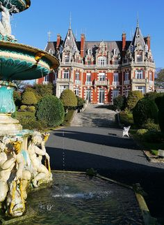 evysinspirations: Chateau Impney in Worcestershire, England (by jacquemart / Flickr) — FUCKITANDMOVETOBRITAIN
