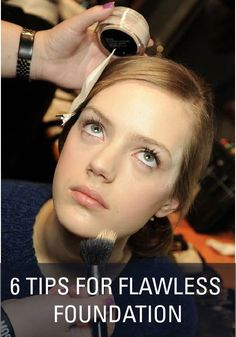 How To: get flawless foundation