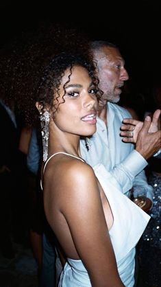 Spoiled Girlfriend, Freaky Pictures, Tina Kunakey, Vincent Cassel, Trophy Wife, French Beauty, Black Girl Magic, Twitter, Pretty People