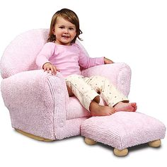 cozy chenille rocker with ottoman, walmart.com - I NEED this in brown for his room!!!