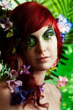 mother earth makeup ideas | Halloween Makeup and Hair | Pinterest ...
