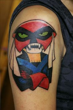 Hopefully the owner of this tattoo didn't leave a cake out in the rain because that would make Brak very sad. #InkedMagazine #cartoon #Brak #cartoonnetwork #tattoo #tattoos #Inked