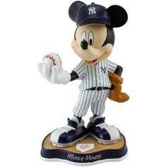 8-Inch Mickey Mouse Figurine - MLB New York Yankees