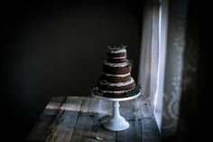 gingerbread sorghum cake + cream cheese mascarpone frosting