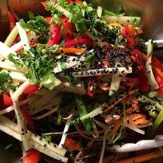 Buckwheat Soba Salad Bowl