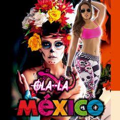 OLA-LA ROPA DEPORTIVA es una marca de ropa Colombiana, que ya cuenta con distribuidores en VARIOS países.  Queremos hoy dia de Halloween resaltar la diversidad cultural de MÉXICO con sus famosas representaciones de la muerte.  Contacto Whatsapp MÉXICO +52 1 664 314 6376.  http://ola-laropadeportiva.com/
