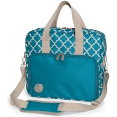 Crafter's Shoulder Bag is the perfect way to easily transport all of your important craft supplies! It fits over the handle of the 360 Crafters Bag for easy transportation; includes several multi-sized mesh pockets; and more!