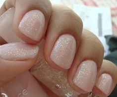 Love pink nail polish