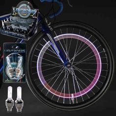 Lightrider Tyre Valve Bike Lights