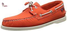 Sebago Docksides, Chaussures bateau Homme - Orange (Orange) - 41 EU - Chaussures sebago (*Partner-Link)