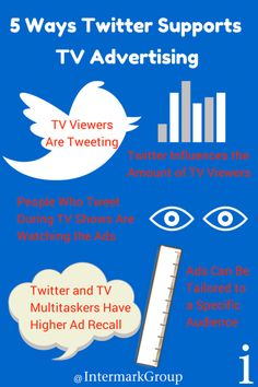 5 Ways Twitter Supports TV Advertising