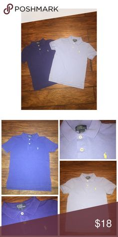 Ralph Lauren 2PC Bundle Pre•loved Ralph Lauren 2PC Bundle • Size 7 • Made of 100% Cotton • Both polos are in good condition, normal signs of wash and wear • Colors are accurate, no filter used Ralph Lauren Shirts & Tops Polos