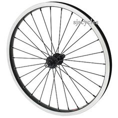 Jtek for Brompton Super Light Front Wheel – Black