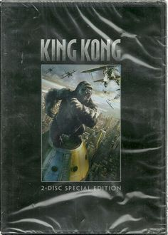 "King Kong (DVD, 2006, Special Edition Anamorphic Widescreen)--2 disks, remake  Despite his origins as a low-budget filmmaker with a taste for the unsavory side of life, Peter Jackson has turned into an ""event"" filmmaker--someone who can conjure up a movie on a scale unlike anything we've seen before. KING KONG is his sprawling, epic remake of Merian C. Cooper and Ernest B. Schoedsack's 1933 movie of the same name, and it is as big as the gorilla that runs riot through Jackson's rendering of…"