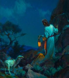 Saving That Which Was Lost [Always searching for that one little stray ] That's Jesus he loves us soo much