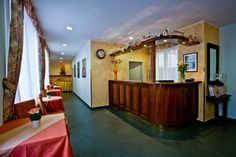 Hotel Melantrich - recepce Lodges, Prague, Cabins, Chalets