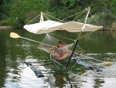 Gilligan would have found this to be a smart way to stay cool and get off the island.