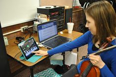 Orchestra Classroom Ideas: Technology Awesomeness - AirPlay!