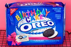 I can't eat regular oreos after having the birthday cake
